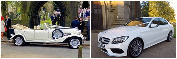 The Open Top Tourer & The Mercedes